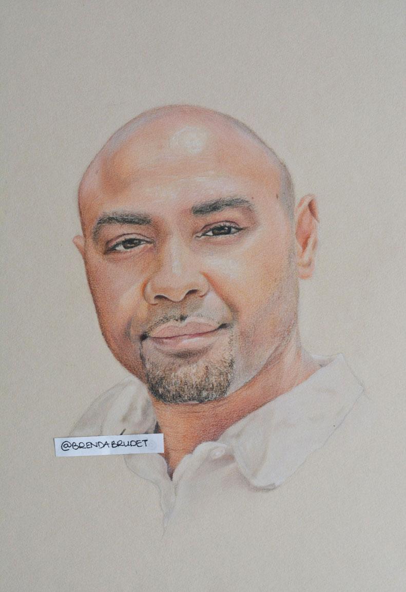 Portrait of Nuno by Brenda Brudet
