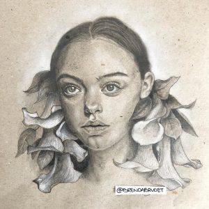 Calla - by Brenda Brudet