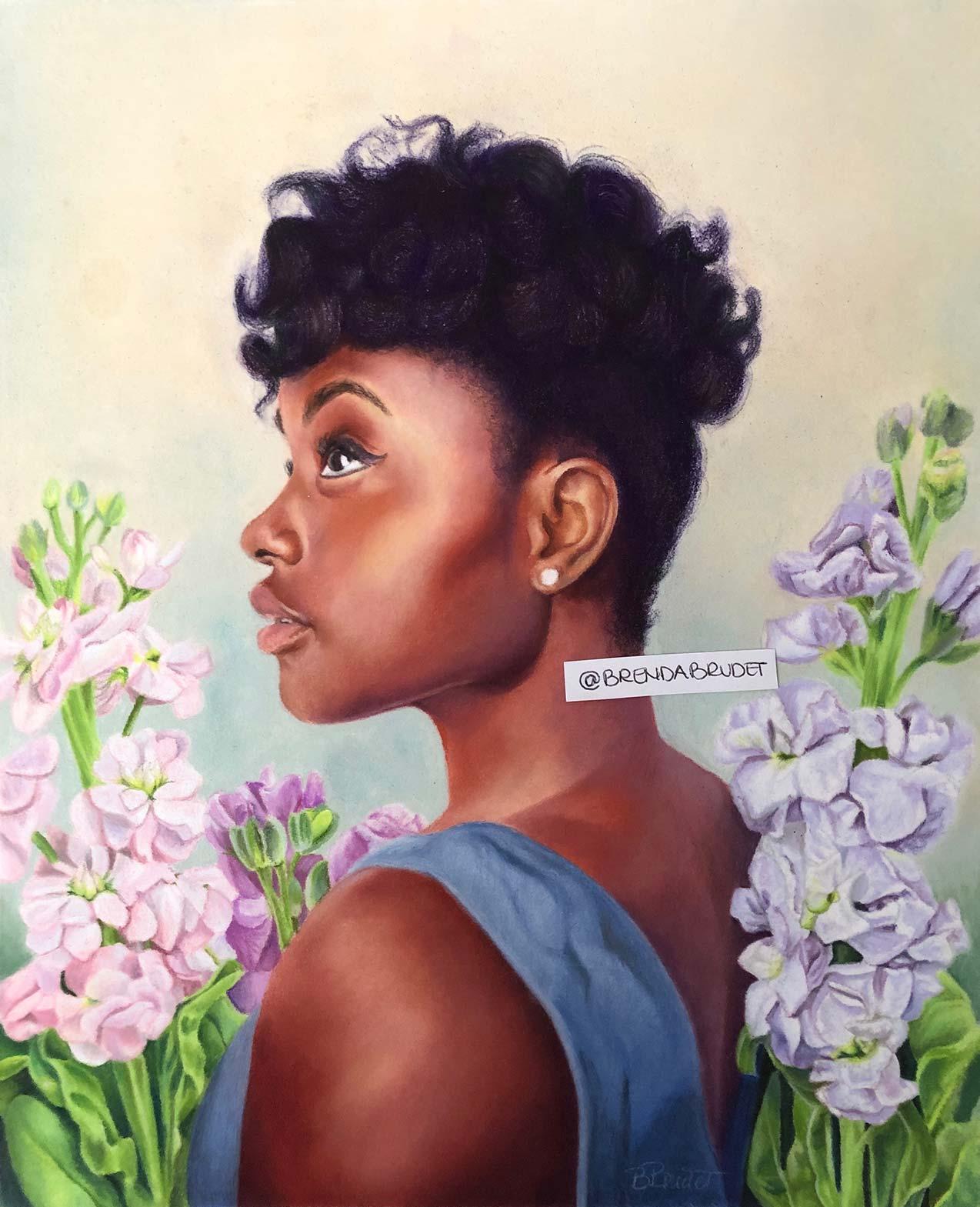 In my garden - by Brenda Brudet