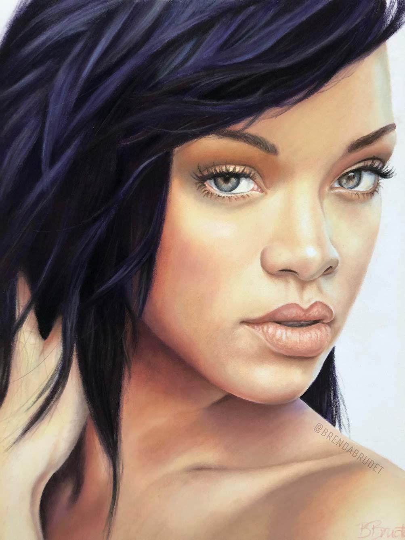 Rihanna - by Brenda Brudet