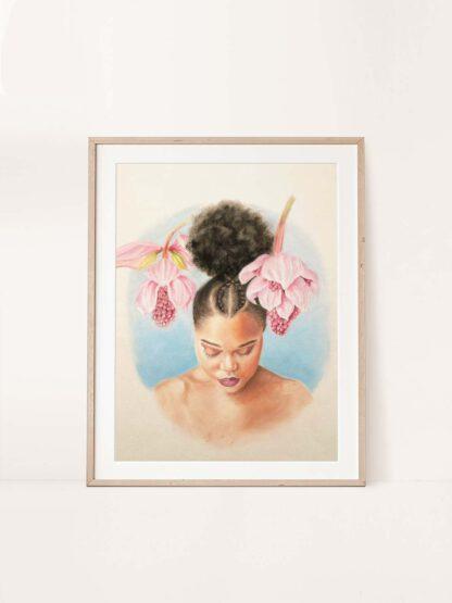 Be still - painting by Brenda Brudet