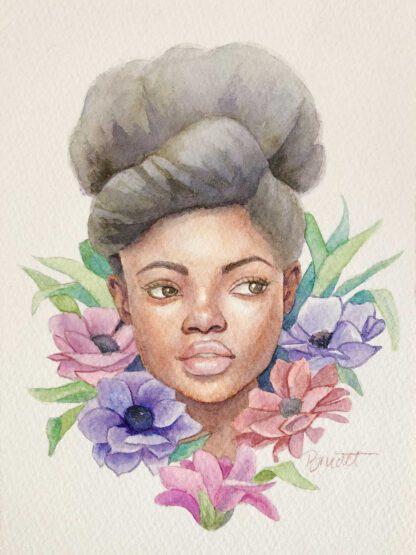 Blooming - painting by Brenda Brudet