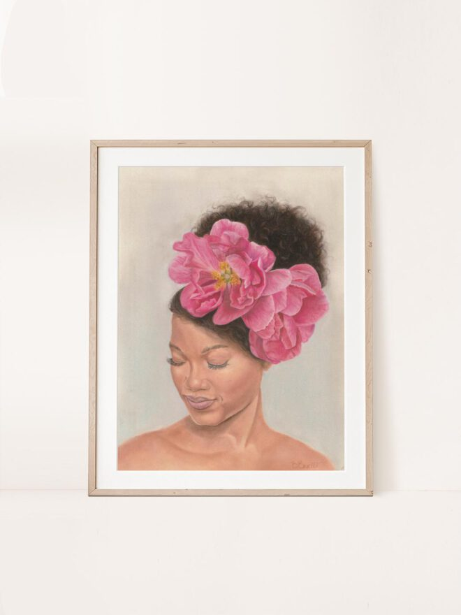 Full bloom - painting by Brenda brudet
