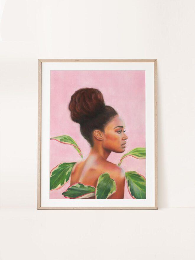 Shielded - painting by Brenda Brudet
