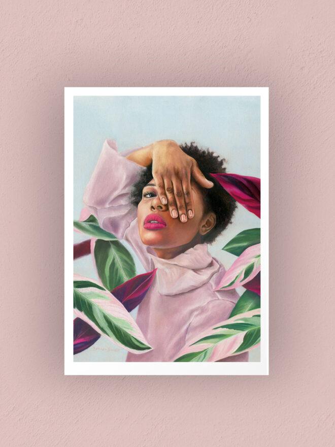 Beneath the surface - art print by Brenda Brudet