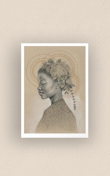 Fa yu kan tak mi no mooi - art print by Brenda Brudet