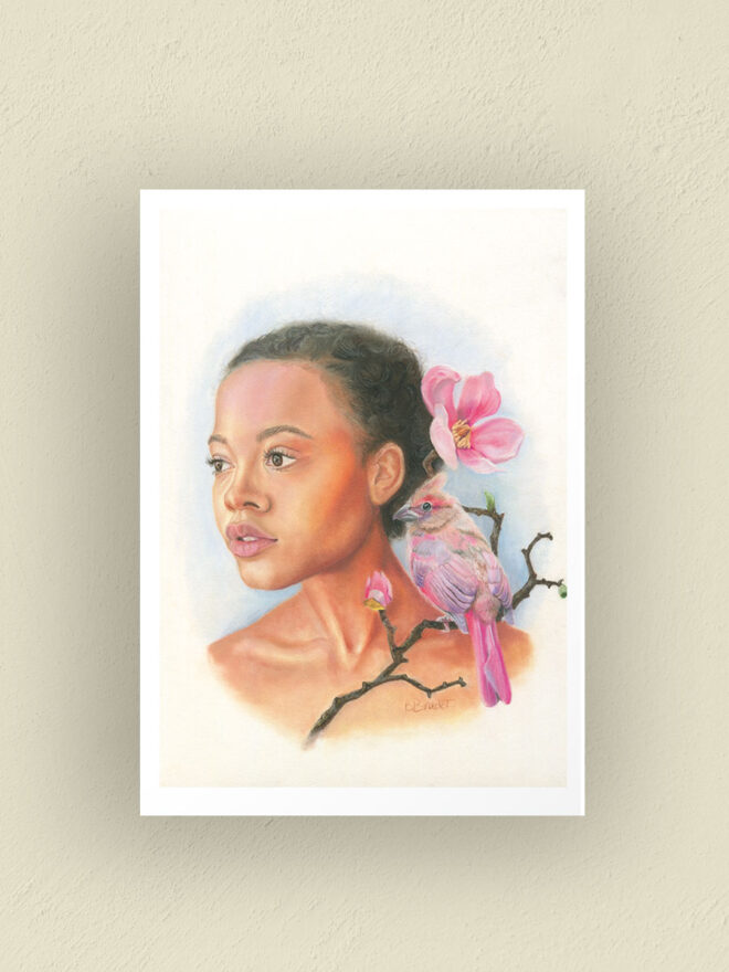 Trust your wings - art print by Brenda Brudet