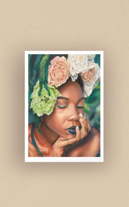 Wakeful dreaming - art print by Brenda Brudet