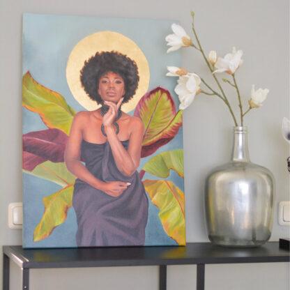 Enthroned by Brenda Brudet
