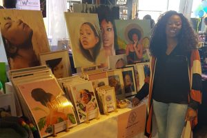 Brenda Brudet at the Coloured goodies Experience