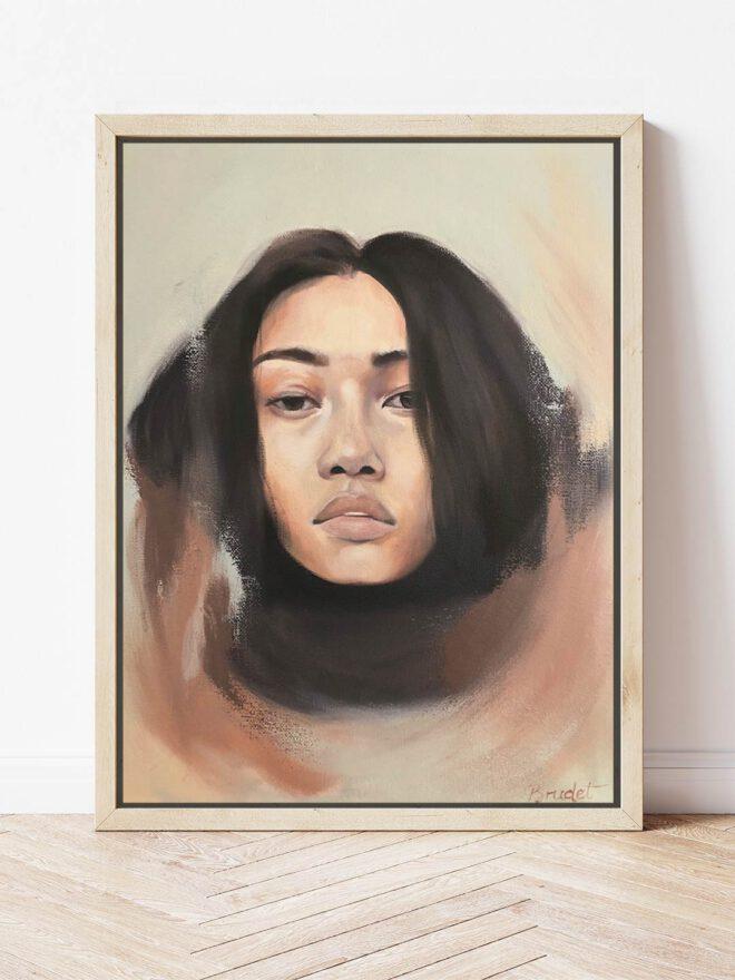 Longing -painting by Brenda Brudet