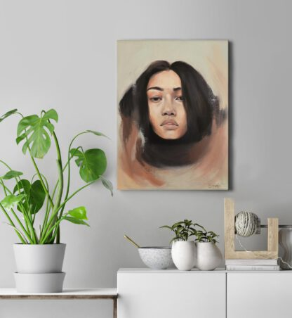 Longing - painting by Brenda Brudet