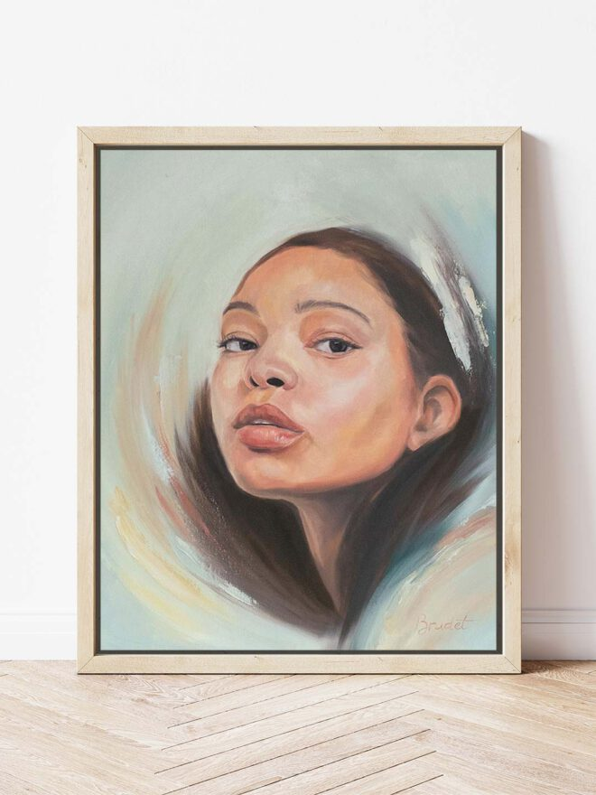 Rapture - painting by Brenda Brudet