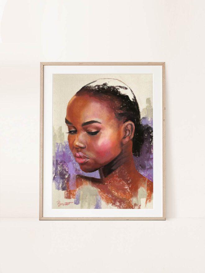 Elegance - painting by Brenda Brudet