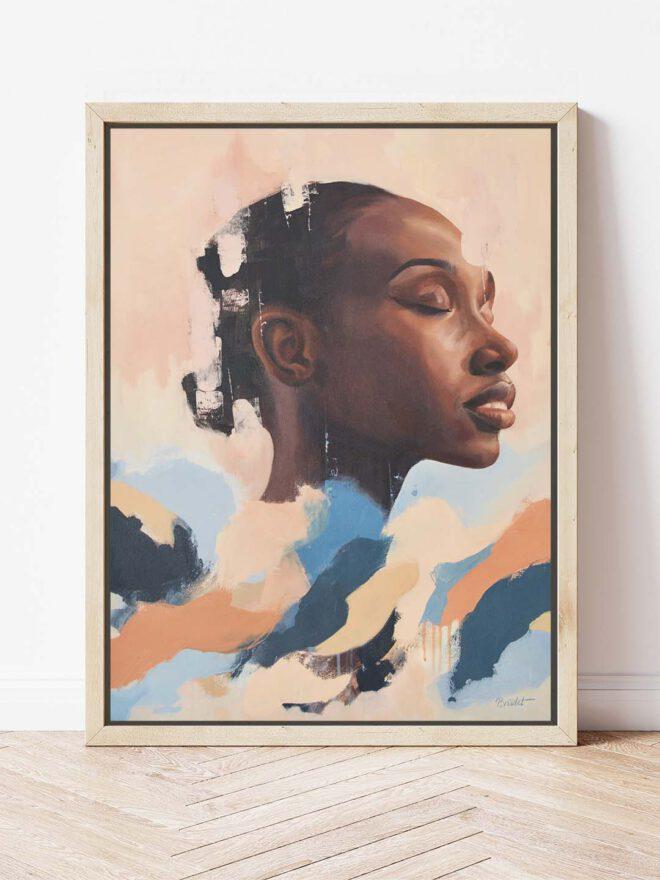 Dreamer - a painting by Brenda Brudet
