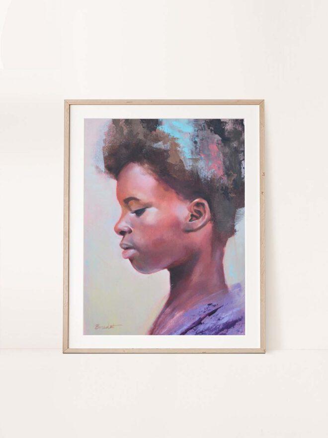 Stillness - a painting by Brenda Brudet