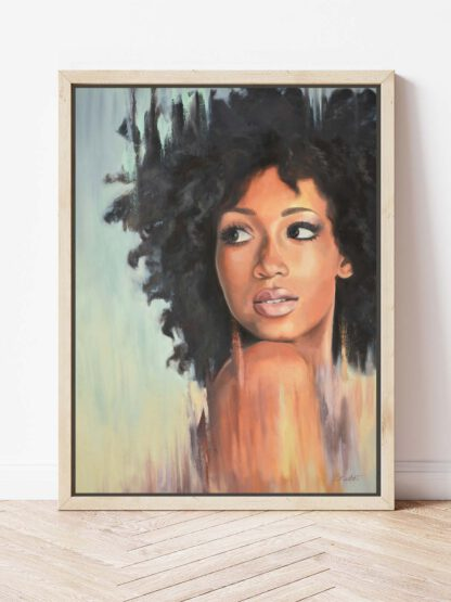 Grace - a painting by Brenda Brudet